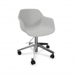 fourme 66 chair on 5 star base with castors