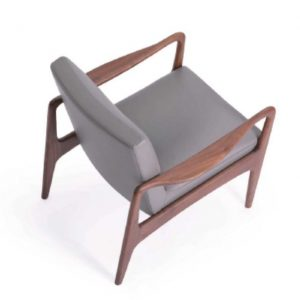 martini timber framed armchair mid centtury style