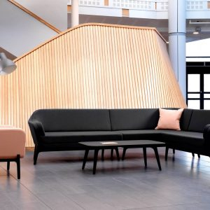 harc lounge with coffee table
